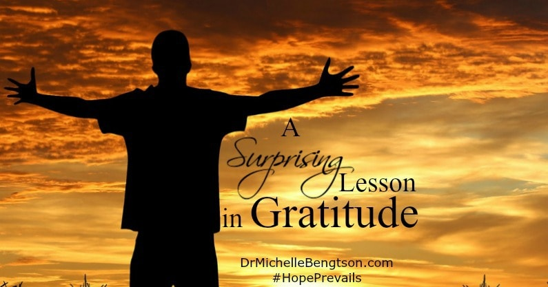 A Surprising Lesson in Gratitude