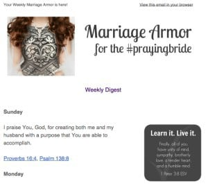 Marriage Armor
