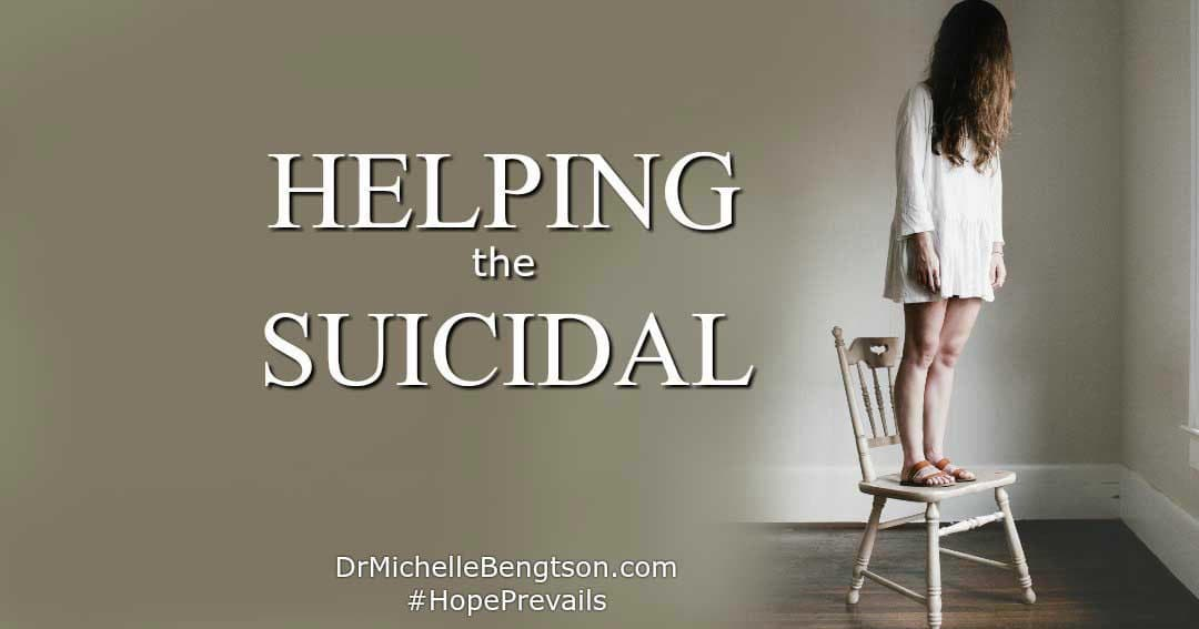 Helping the Suicidal