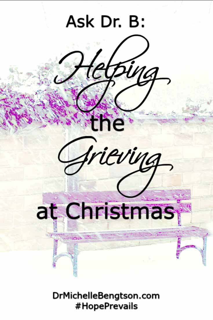 How do you help the grieving at Christmas? Grief not only affects those who have lost friends & loved ones due to death, but also grief from a divorce or breakup, separation, job losses and more. Read more for ways to help.