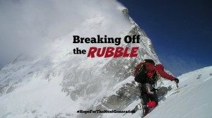 Breaking Off the Rubble by Bryce Bengtson