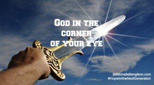 God in the Corner of Your Eye by Bryce Bengtson