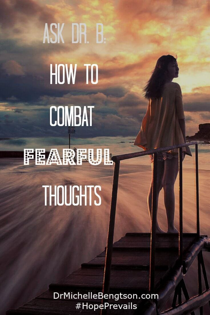 Scripture says we are to resist the devil and he will flee. Is it hard sometimes? Yes, but worth it. And in reality, isn't it hard to live under the burden of fear and anxiety? Use these tools to combat fearful thoughts.