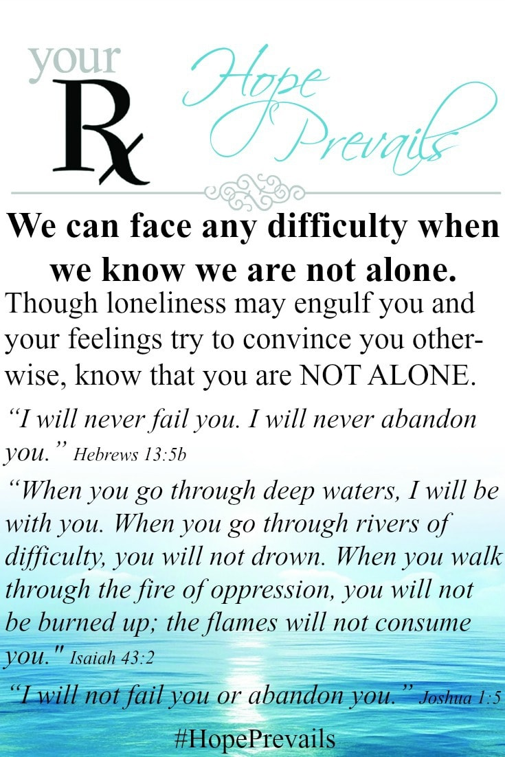Your RX We can face any difficulty when we know we are not alone