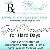 God's Promises for Hard Days - a Free Gift