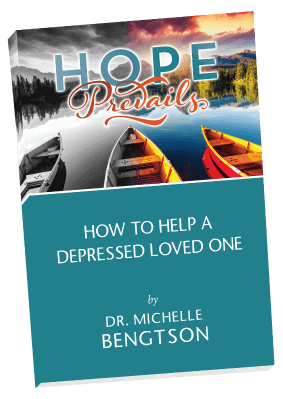 How To Help a Depressed Loved One. Free eBook for family members and friends of a depressed loved one.