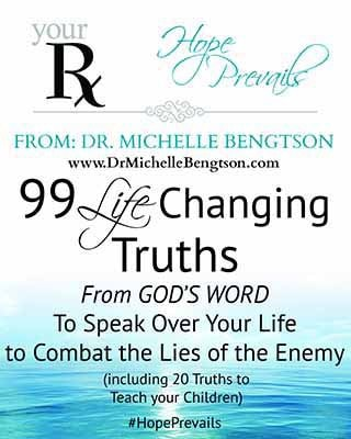 Handling Anxiety and other Life Changing Truths by Dr. Michelle Bengtson