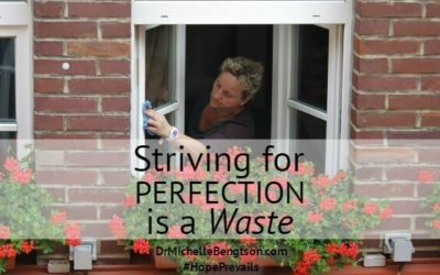 Striving for Perfection is a Waste