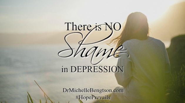 There is No Shame in Depression