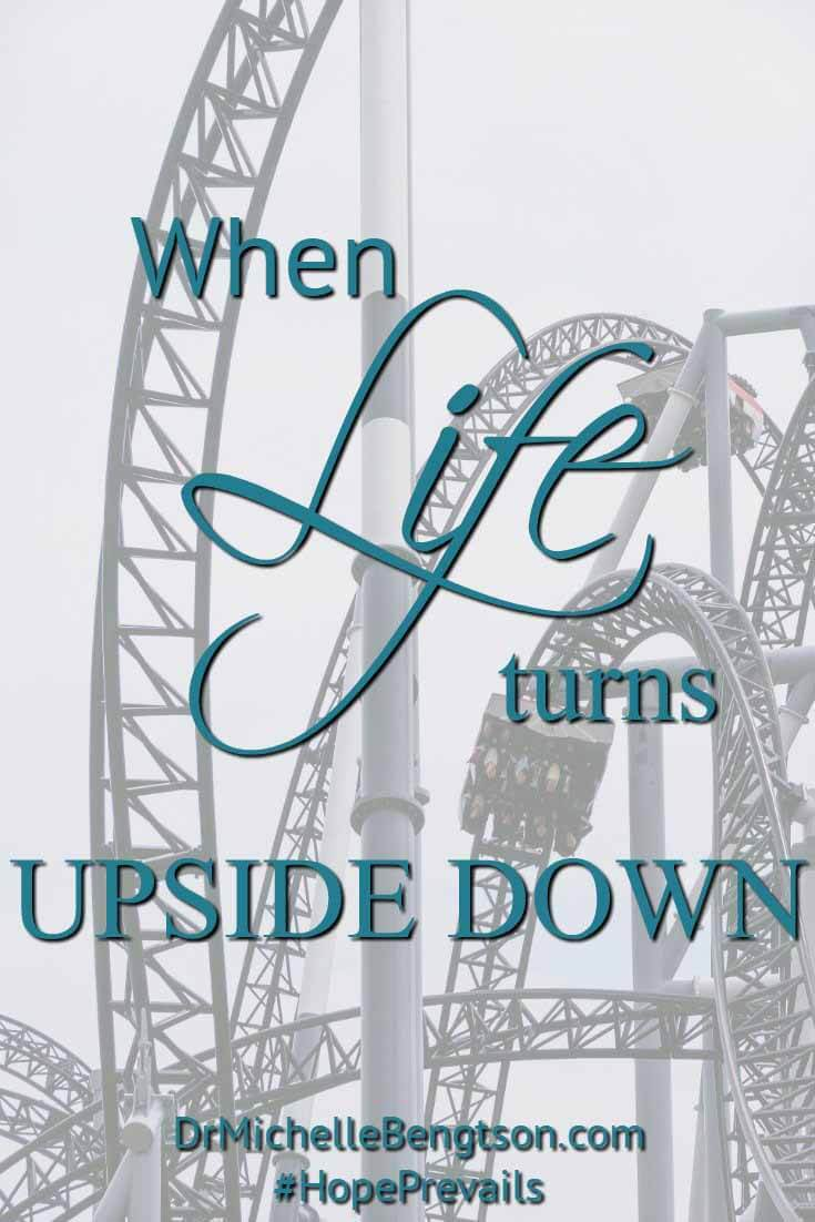 Have you ever gone through a period in your life when things just did not seem like normal? When you couldn't quite put your finger on what was different, or what had changed? When life turned upside down.