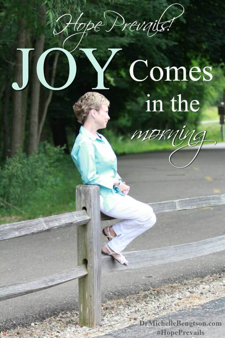 In the depths of the valley of depression, one of the ways that the enemy keeps us there, is by stealing our joy. He does that in many ways. But he largely does that through our thoughts. One way to combat that is to take captive every thought. Find out more!