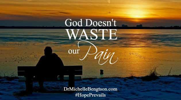 God Doesn't Waste Our Pain