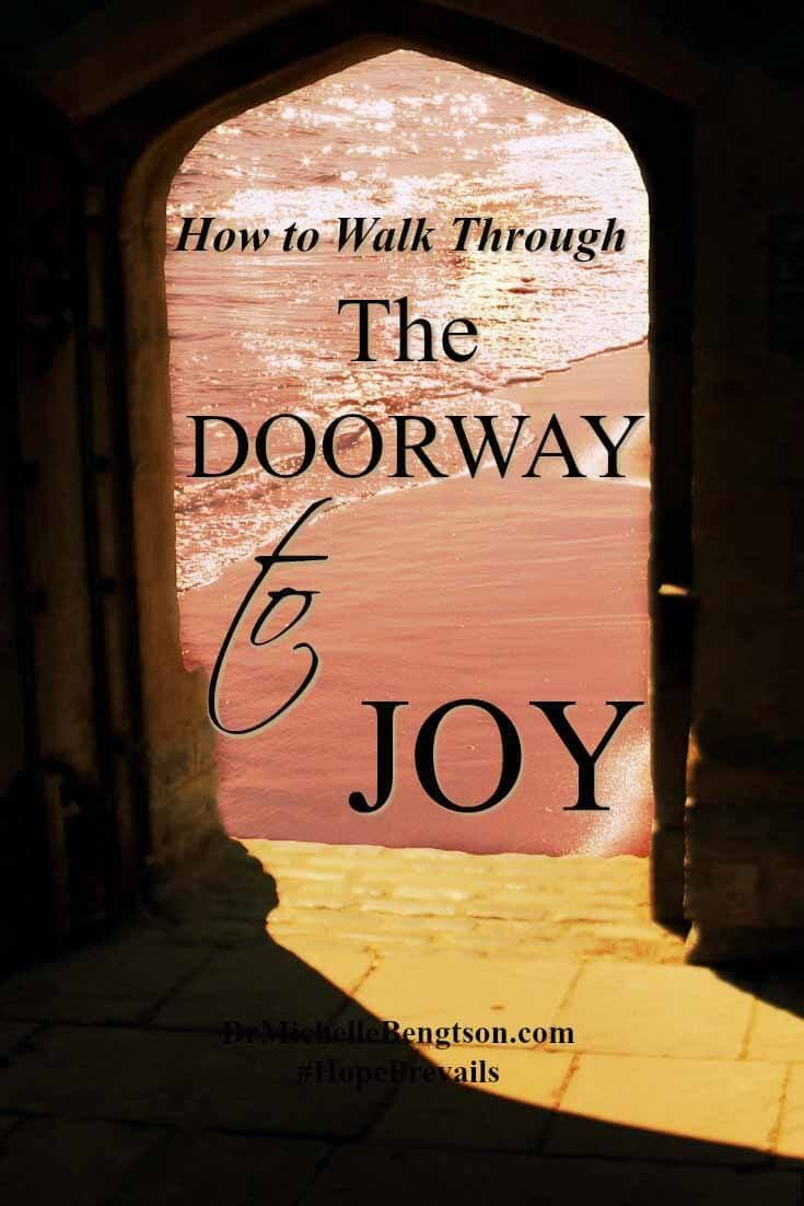 Scripture says you reap what you sow. If we want to reap peace, we must sow thankfulness. Gratitude and thankfulness open the doorway to joy.