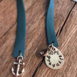 teal-leather-bookmark