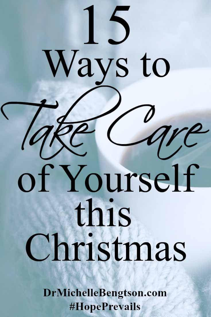 Does the busyness of the holiday season leave you zapped of peace and joy? With a little bit of planning, you can give yourself a gift of love this season. And, keep the peace and joy that God offers.