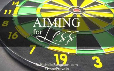 Aiming for Less