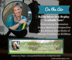 Athena Dean Holtz Always Faithful Radio Interview