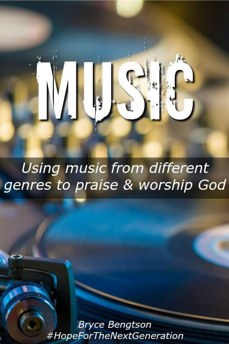 Different genres of music can be used to praise God. A song with a positive meaning to the words can be reflected back to Him! Praise Him while you're alone or with others who enjoy the same taste of music.