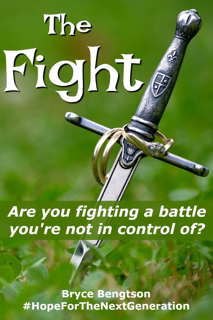 Are you fighting a battle you're not in control of? God did not intend us to be harmed but to prosper with Him. Give control to the Lord and let Him fight for you.