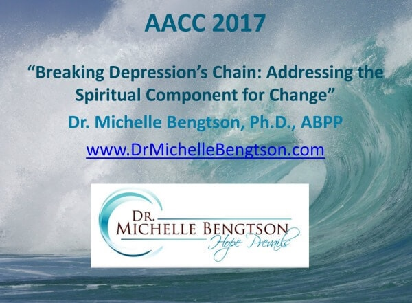 Breaking Depression's Chain: Addressing the Spiritual Component for Change