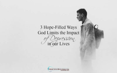 3 Hope-Filled Ways God Limits the Impact of Depression in our Lives