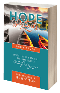 Are you or someone you love experiencing depression? This Bible study takes the reader into greater help, hope and healing. Get your copy on October 25th.