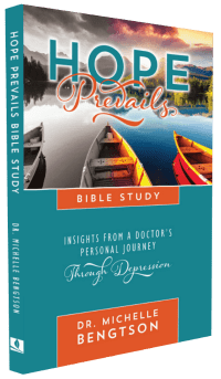 Hope Prevails: Insights From a Doctor's Personal Journey Through Depression Bible Study release date October 25, 2017