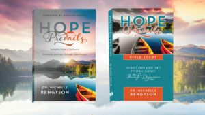 Depression resources: Hope Prevails and Hope Prevails Bible Study