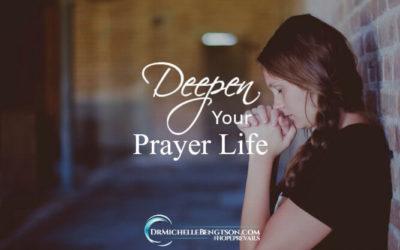 Deepen Your Prayer Life