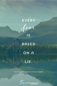 Every fear is based on a lie. #HopePrevails #BibleStudy