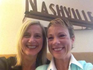 Kim Aldrich with Dr. Michelle Bengtson.
