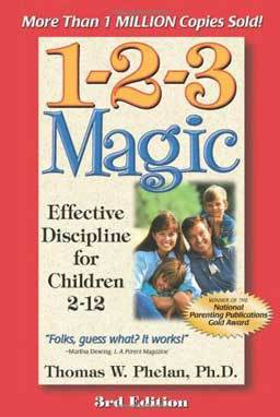 1-2-3 Magic: Effective Discipline for Children 2-12 steps for disciplining children from two through twelve without arguing, yelling or spanking. Immediately manage troublesome behavior with reason, patience, and compassion.