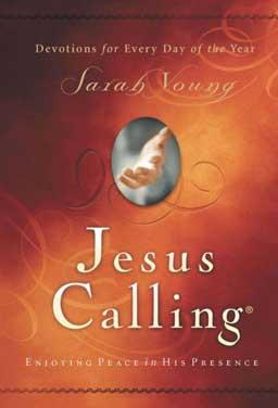 Jesus Calling: Enjoying Peace in His Presence is a book of powerful pages filled with the words Jesus spoke to the author.