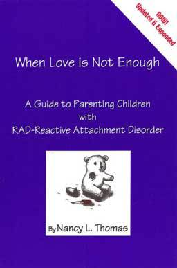 When Love is Not Enough, a guide for parenting children with reactive attachment disorder brings parents and professionals alike hope and healing tools needed to help challenging children.