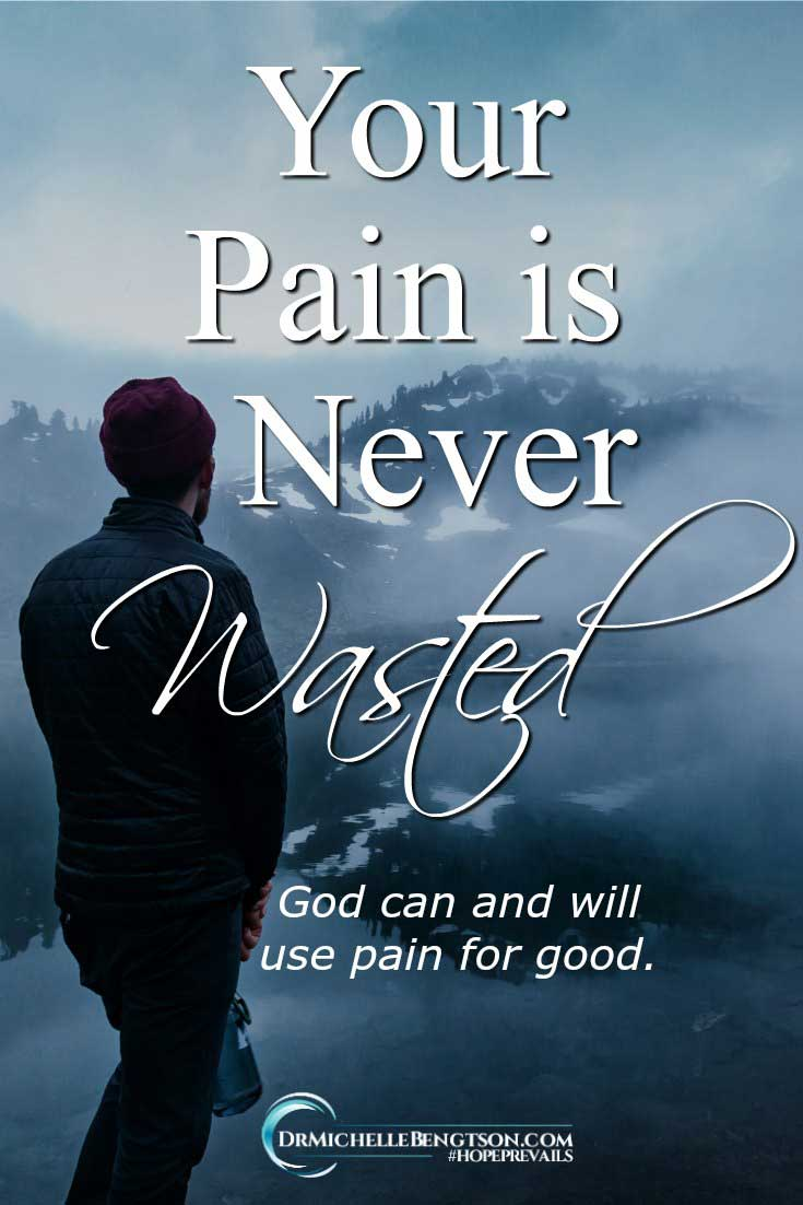 There are so many painful things I have gone through, but there are also countless ways that I have seen God use my pain for good over the years. #hope #depression #mentalhealth