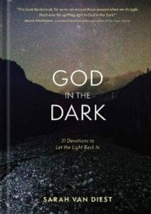 When you are in the dark places of your life, Sarah Van Diest offers a companion for the path you are walking. A collection of 31 devotions.