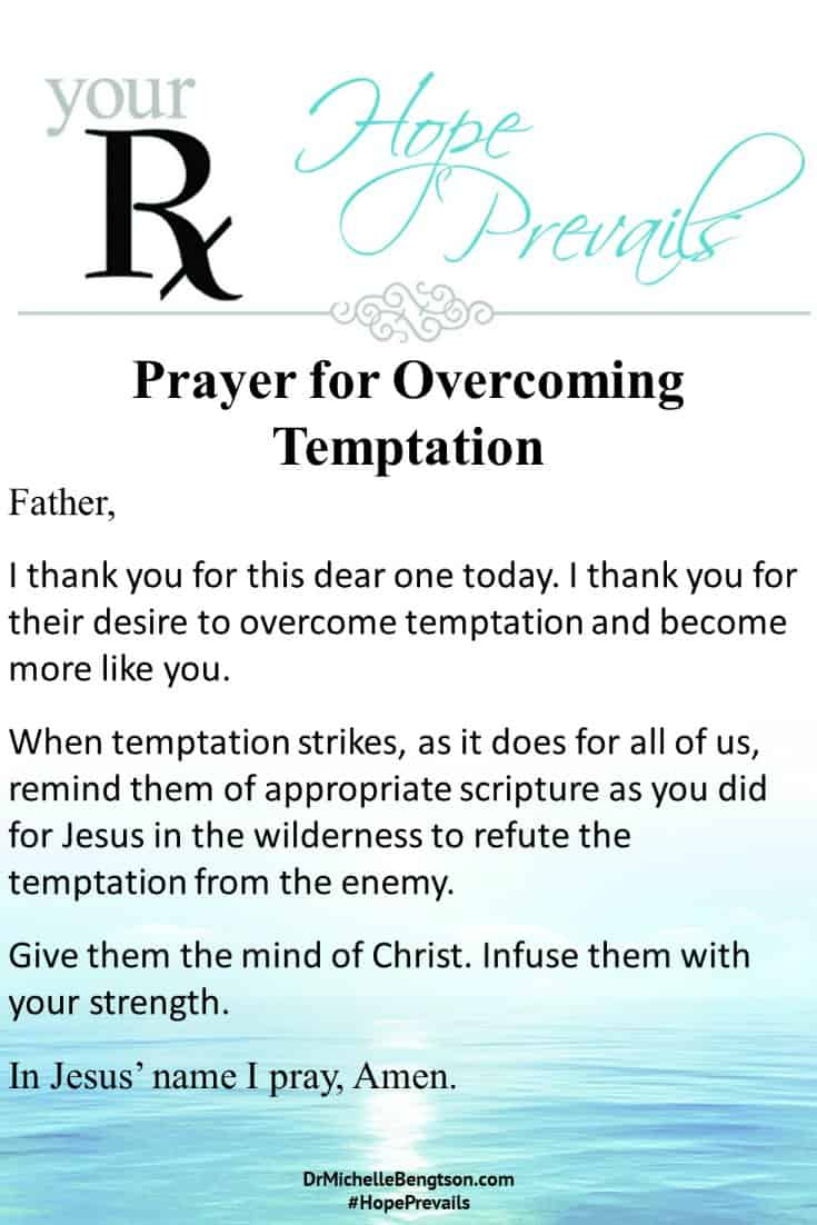 A prayer for those who are battling to overcome temptation and become more like Jesus. #Prayer #Christianity #BibleVerses