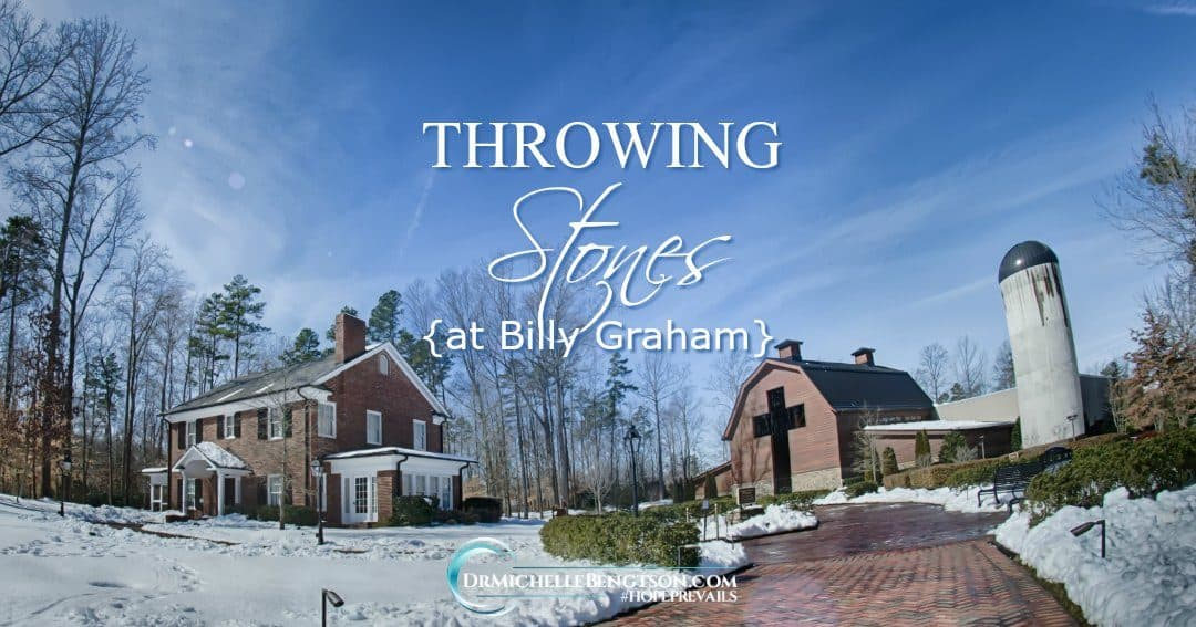 Throwing Stones at Billy Graham