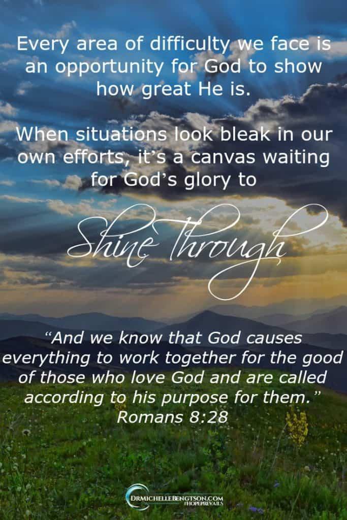 When facing adversity, speak God's promises instead of confessing the problem. #BibleVerse #God #Encouragement