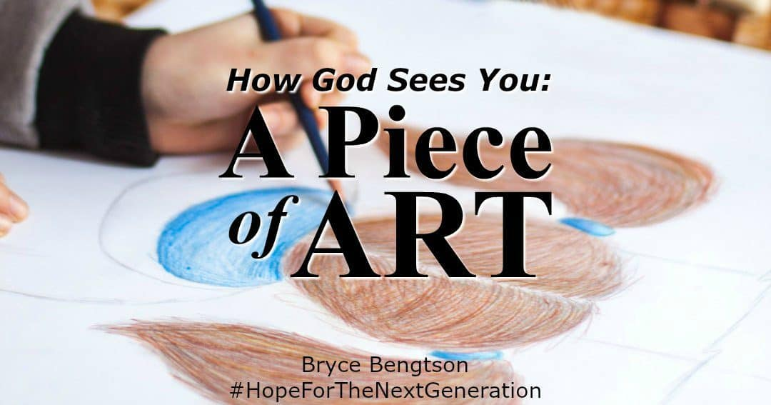 How God Sees You: A Piece of Art
