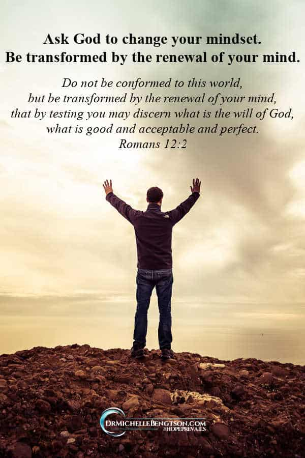 Don't be conformed to the world as in Romans 12:2. Let God transform you by renewing your mind. #Christian #Christianity #BibleVerse