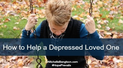 Tips for how to help a depressed loved one