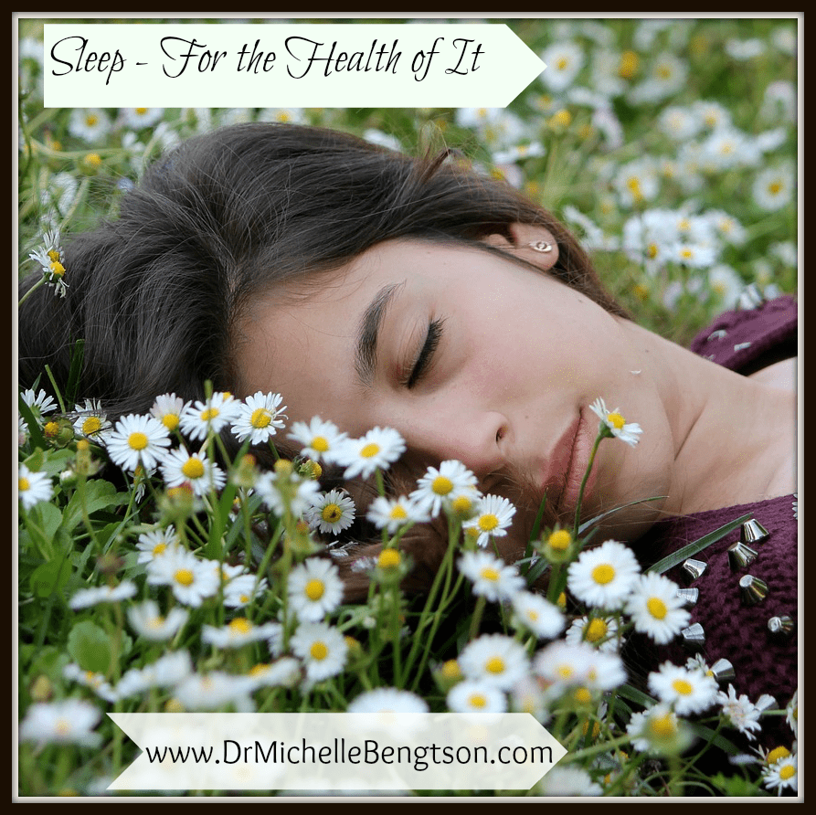 Sleep – For the Health of It