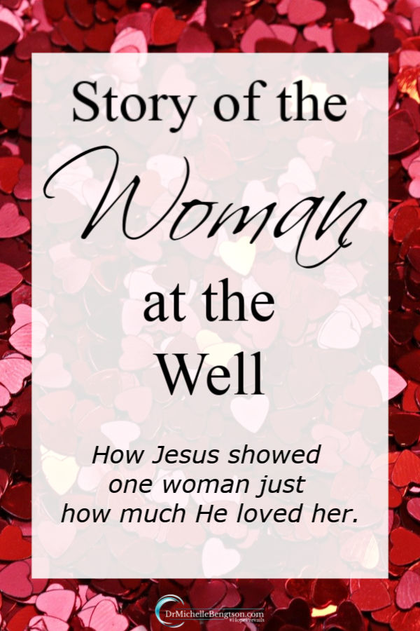 Will you be mine? That's not only a question we might ask another this time of year for Valentine's Day, but I believe is also the fundamental question Jesus asks each of us. Jesus gets to the heart of matters in the story of the woman at the well. #Jesus #faith #Jesuslovesyou