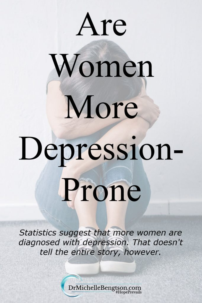 Men and women both suffer from the painful condition of depression. But, who is more prone to be depressed? Men or women? #mentalhealth #depression #hope