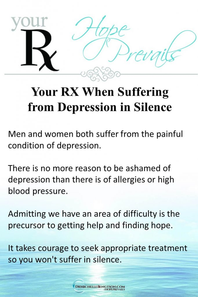 Hope for those suffering from depression in silence. #mentalhealth #depression #hope