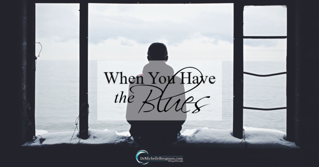 What to do when you have the blues.