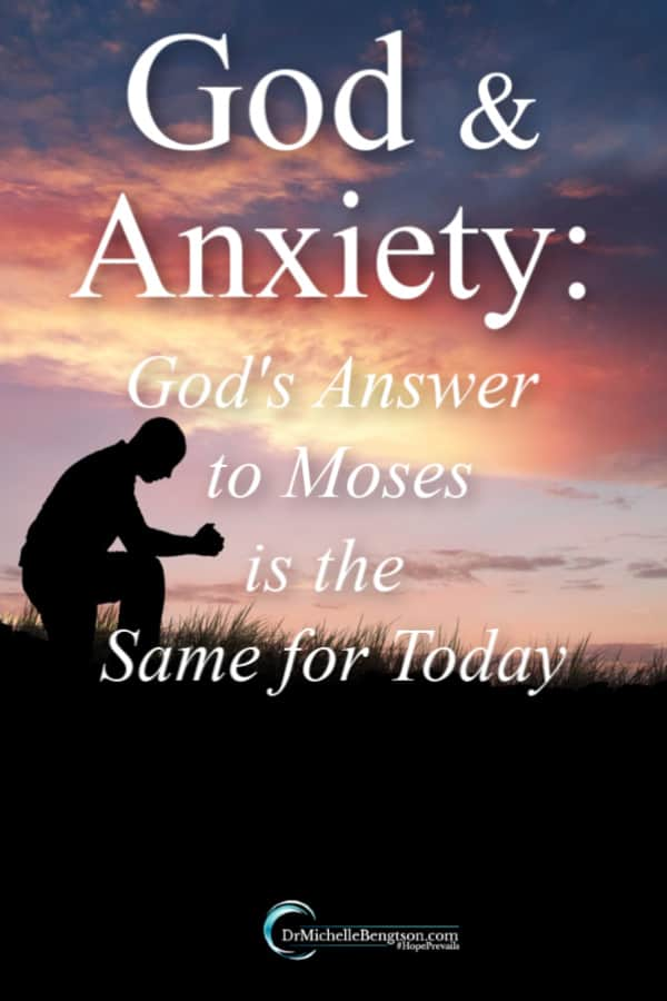 Even Biblical greats suffered from anxiety and listened to lies from a spirit of fear. God had an answer for anxiety and fear back then. And, the same answer applies today. #anxiety #mentalhealth
