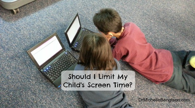 Should I Limit My Child's Screen Time?