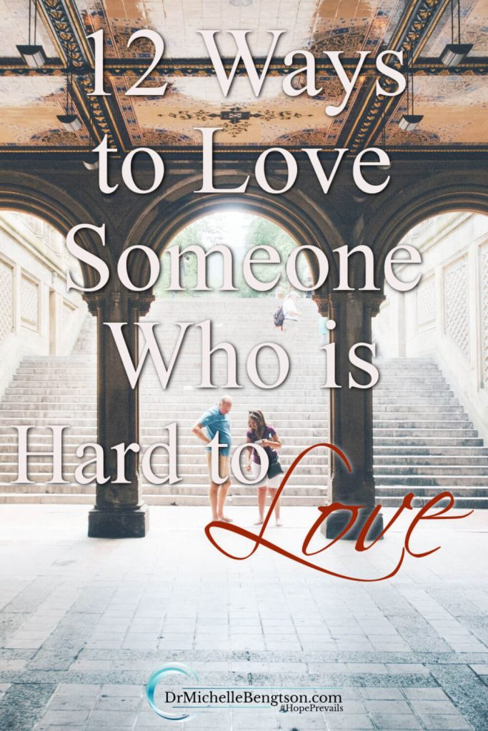 "We all know people like that, don't we? People in our lives who just seem a bit ""prickly"" and hard to love because of their attitude, words, or actions. So, as we consider those around us, we must ask the question: how do we love someone who is hard to love? #compassion #grace #hope #faith"